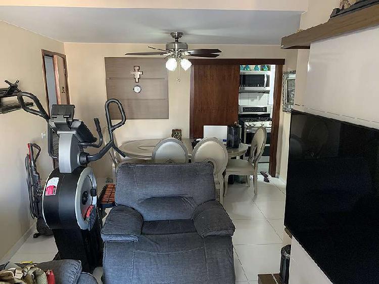 Apartamento para venda com 80 metros quadrados com 1 quarto
