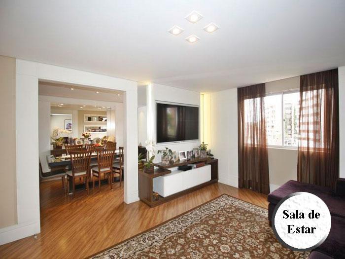 Apartamento semi-mobiliado no juvevê - 112 m úteis - 3