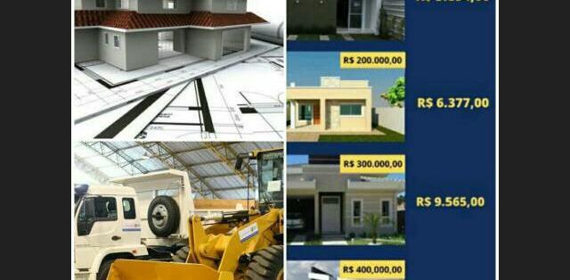 Crédito casa com 2 domitórios - mgf imóveis