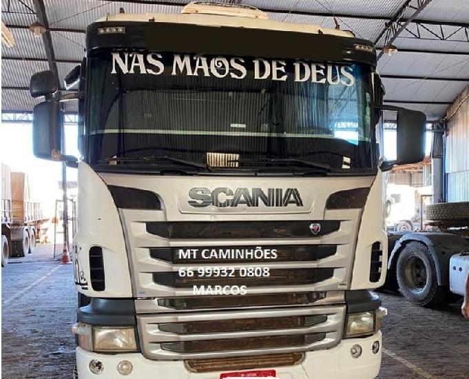 Scania g420 6x4 manual 2011! sem trocas