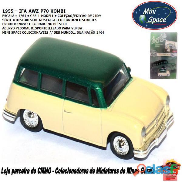 Grell Modell 1955 IFA AWZ P70 Kombi 1/64