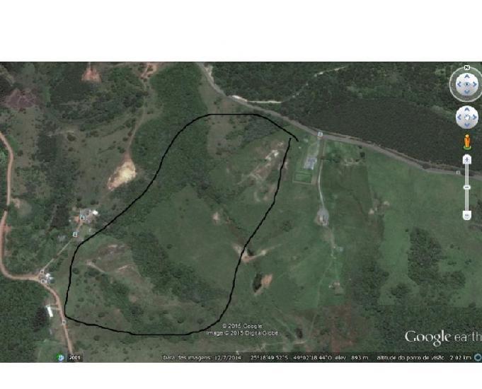 Rea indl 271.500m² campina grande do sul pr