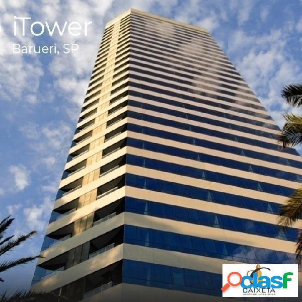 Escritório para locação edifício i towers
