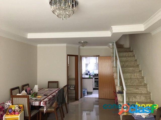 Sobrado com 120 m², 3 dormitórios c/ 1 suíte e 2 vagas na vila matilde