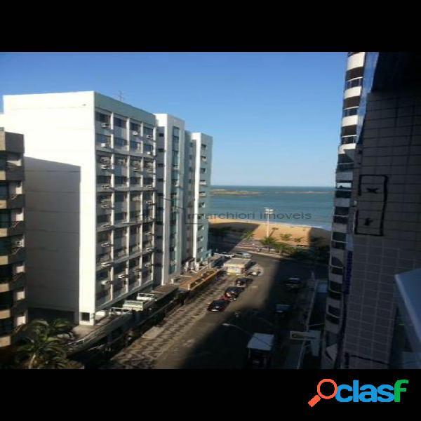 Apartamento 4 quartos 2 suites praia da costa frente sol da manha
