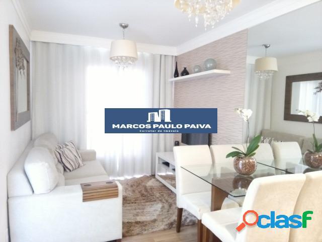 Apartamento em guarulhos no spázio verona 47 m² 2 dorms 1 vaga vila flórida