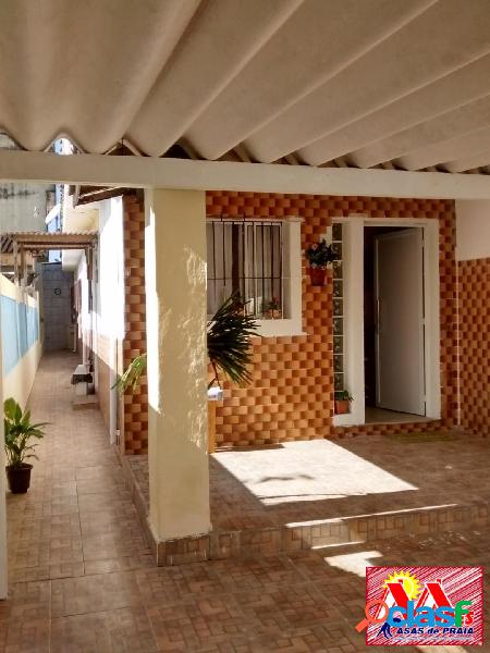 Locação casa 2dormit 1suite a 350mts da praia em mongaguá na mendes casas
