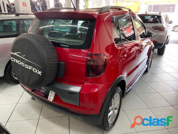 Volkswagen crossfox 1.6 mi total flex 8v vermelho 2012 1.6 flex