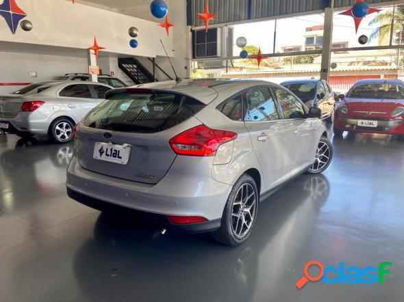 Ford focus titatita plus 2.0 flex 5p aut. prata 2016 2.0 flex