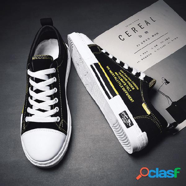 Temporada sapatos de lona dos homens sapatos casuais sapatos casuais dos homens sapatos de maré baixa para ajudar a juventude net sapatos de maré vermelha