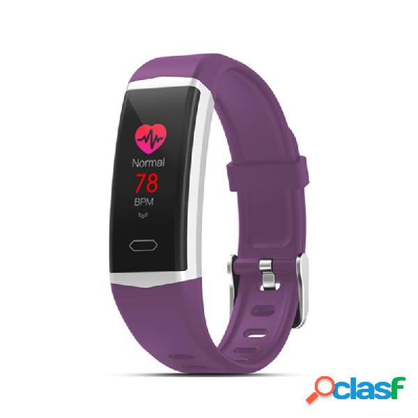 Gps embutido registro de atividade coração taxa de pressão arterial ip68 monitor de atividade à prova d'água mensagem tempo relógio inteligente