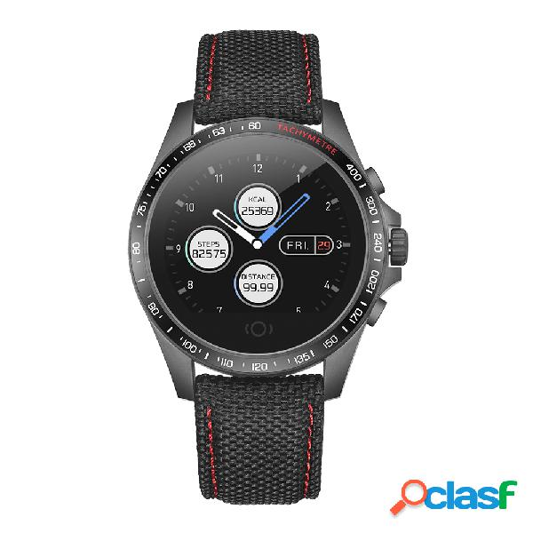 A cara esperta redonda do relógio do esporte personaliza o relógio esperto do monitor da pressão sanguínea da frequência cardíaca do relógio