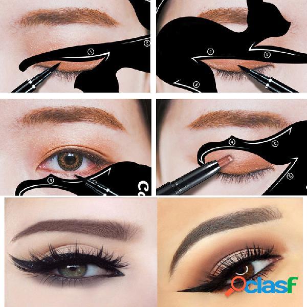 Cat eye delineador moderno sombra dos olhos ferramenta coméstica