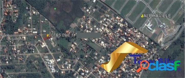 Oportunidade!terreno com 1.000 m² na vila do peró cabo frio