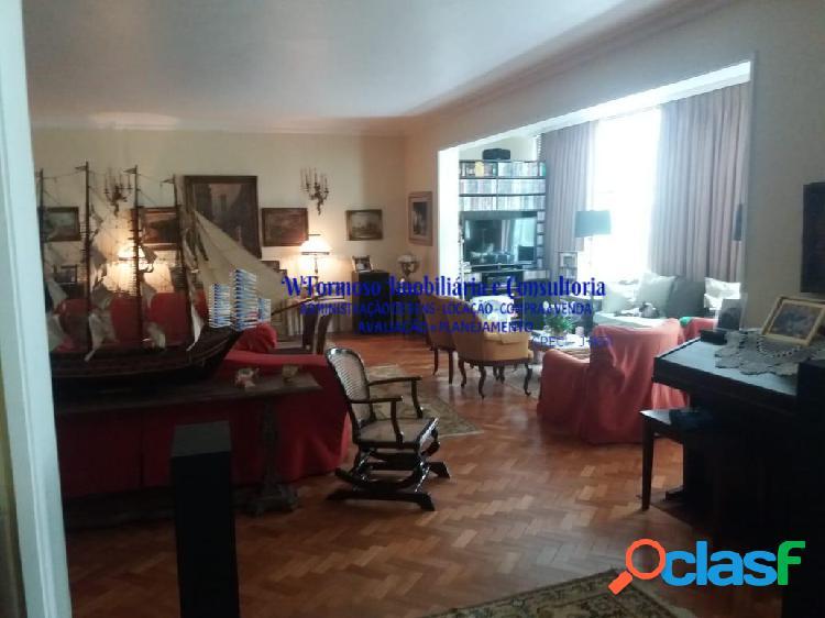 Ótimo apartamento a venda 3 quartos, rua souza lima - copacabana - posto 6