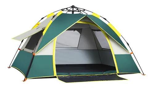 Barraca camping praia 3-4 pessoas ventilação de quatro
