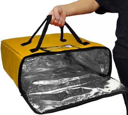 Bolsa térmica quadrada bag delivery pizza