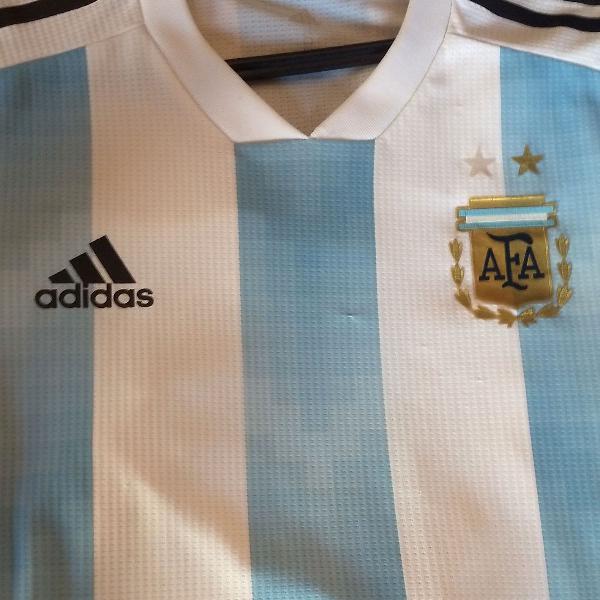 Camisa argentina jogador tam p/m