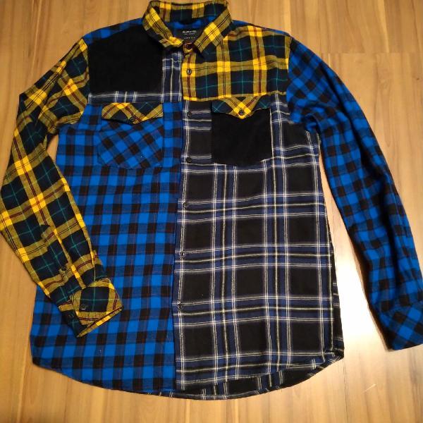 Camisa xadrez flanela renner
