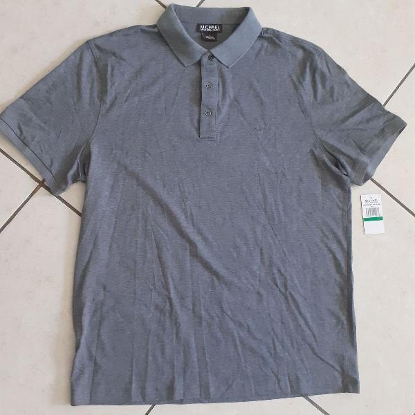Camiseta cinza masculina original - michael kors