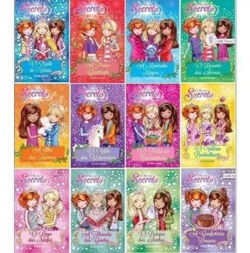 Coleção livros infantis reino secreto - 12 obras