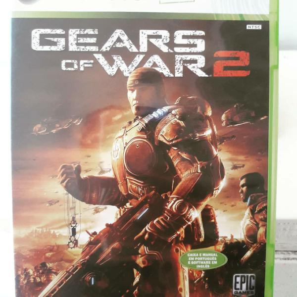 Jogo gears of war 2 xbox360 original