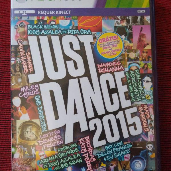 Jogo xbox 360 kinect just dance 2015