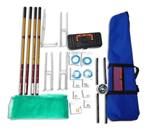Kit pesca 4 varas telescopica 2x 3,60 2 x 4,00 com bolsa !!
