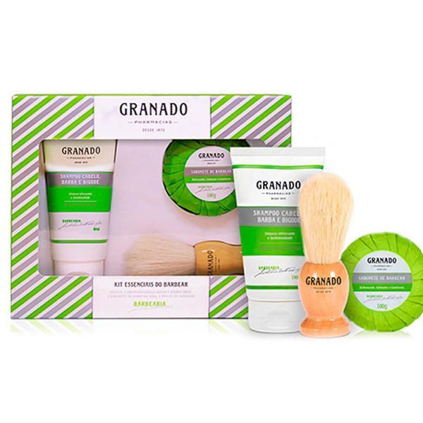 Kits essenciais do barbear granado (210)