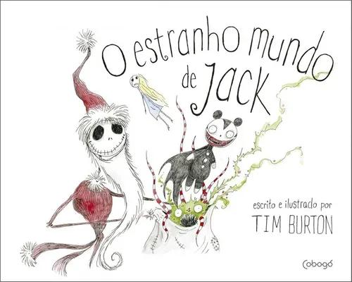 Livro: o estranho mundo de jack - tim burton