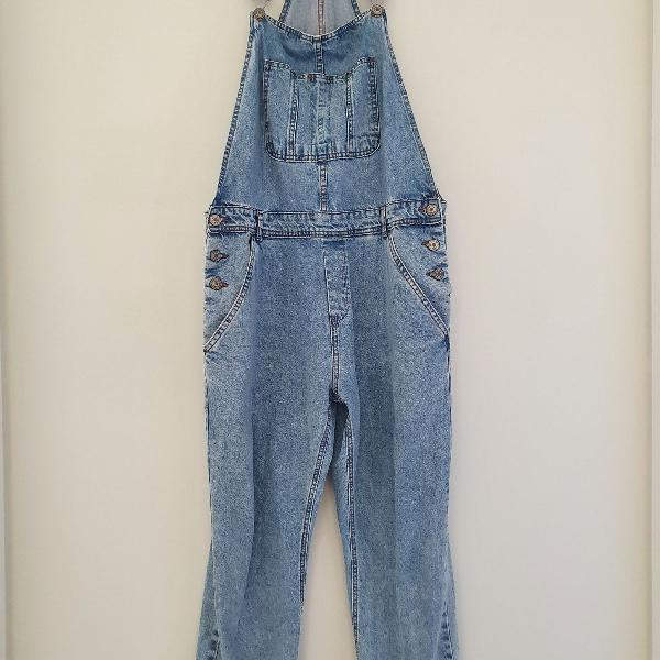 Macacão denim/jeans