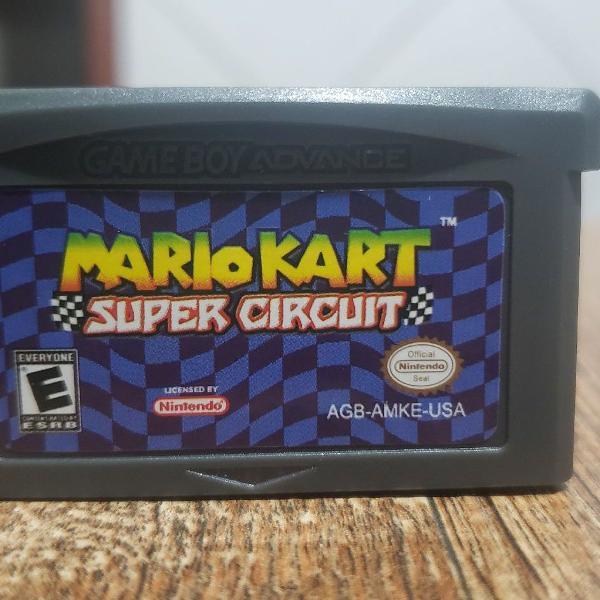 Mario kart game boy novo!!