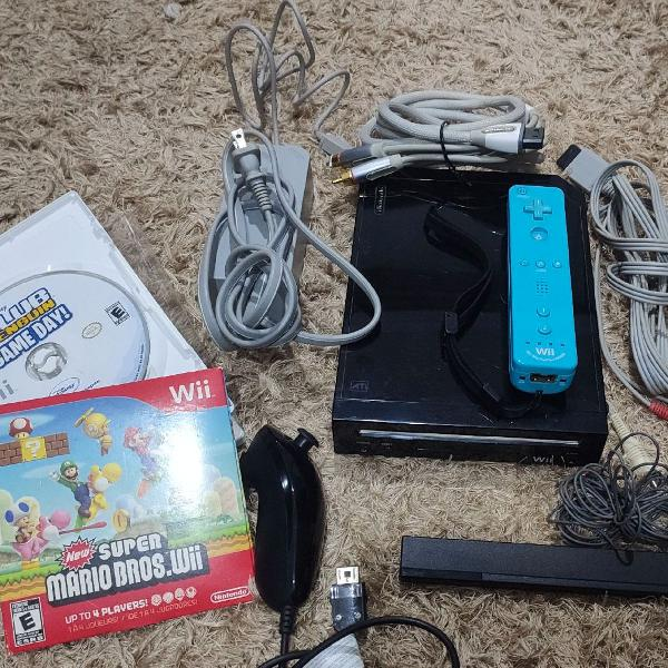Nintendo wii + dois jogos