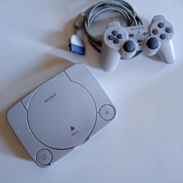 Playstation 1 original + acessórios + brinde