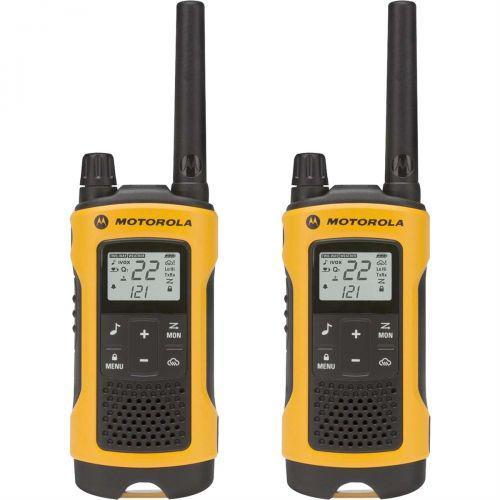 R/u00e1dio comunicador talkabout 35km amarelo t400br