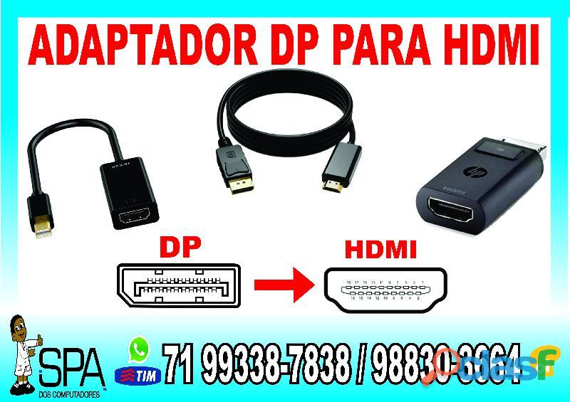 Adaptador cabo displayport para hdmi em salvador ba