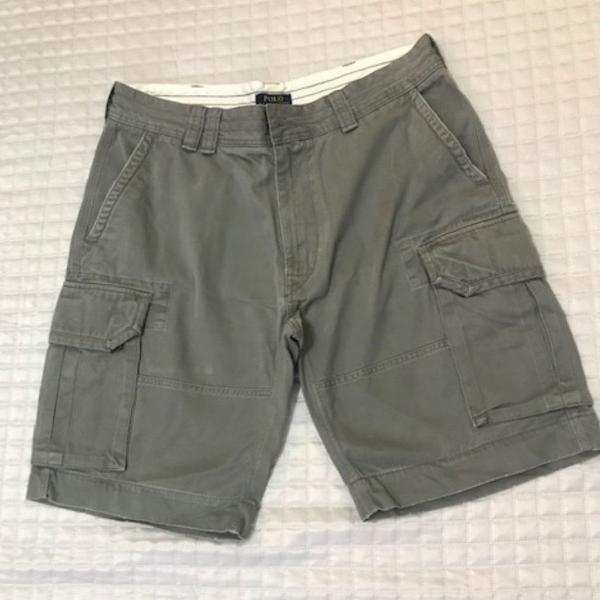 Bermuda jeans masculina polo ralph lauren original