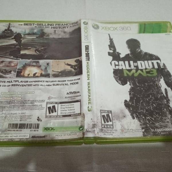 Call of duty modern warfare 3 xbox360 xbox 360 b15#b