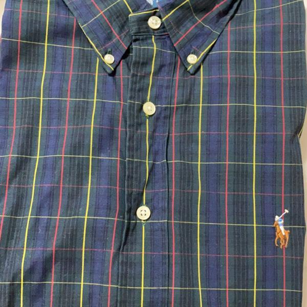 Camisa manga comprida polo ralph lauren
