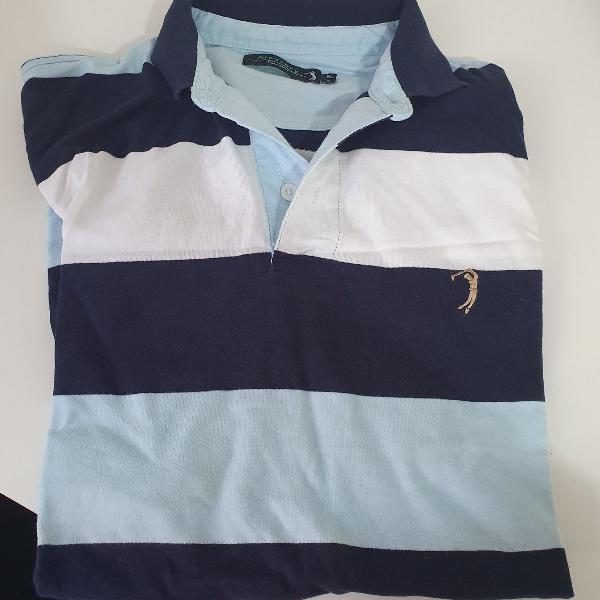Camiseta listrada manga curta