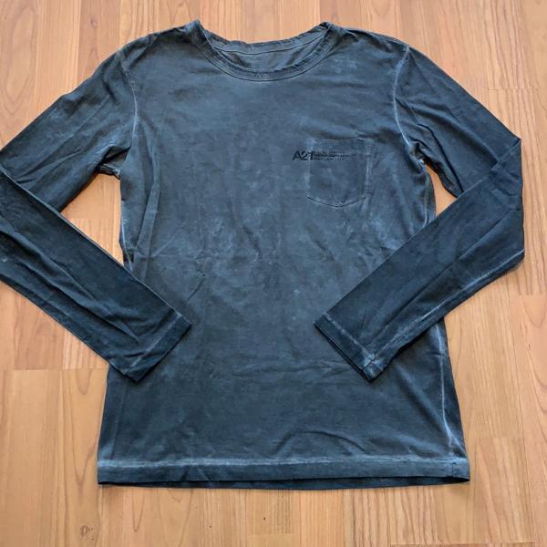 Camiseta masculina osklen manga longa