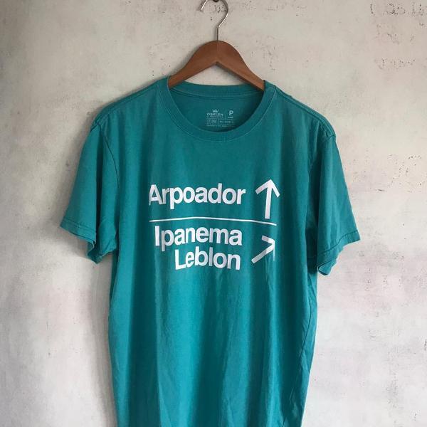 Camiseta osklen rj azul b309