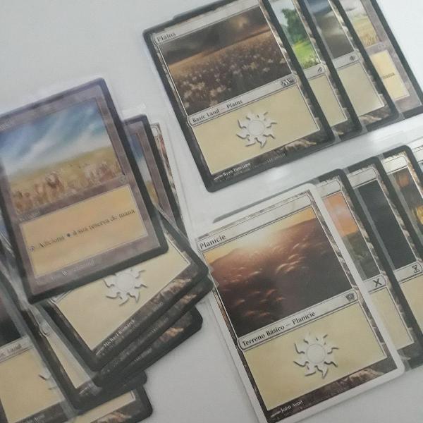 Cartas magic - planície