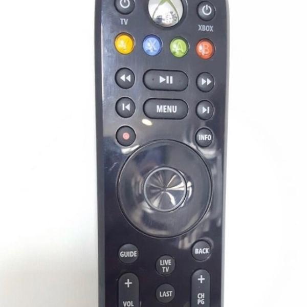 Controle remoto multimídia xbox 360 6ck - preto - original