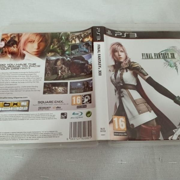 Games jogos final fantasy xiii 13 ps3 play3 13#j