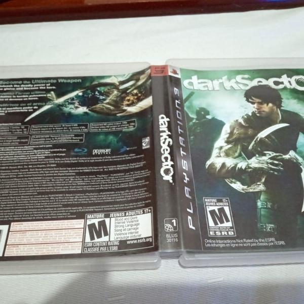 Games jogos ps3 play3 usados dark sector