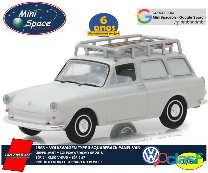 Greenlight 1963 Volkswagen Squareback tipo Van 1/64