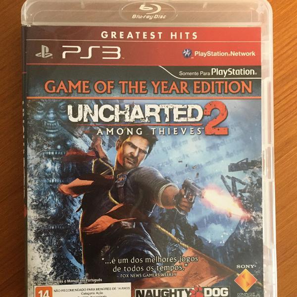 Jogo uncharted 2 - ps3