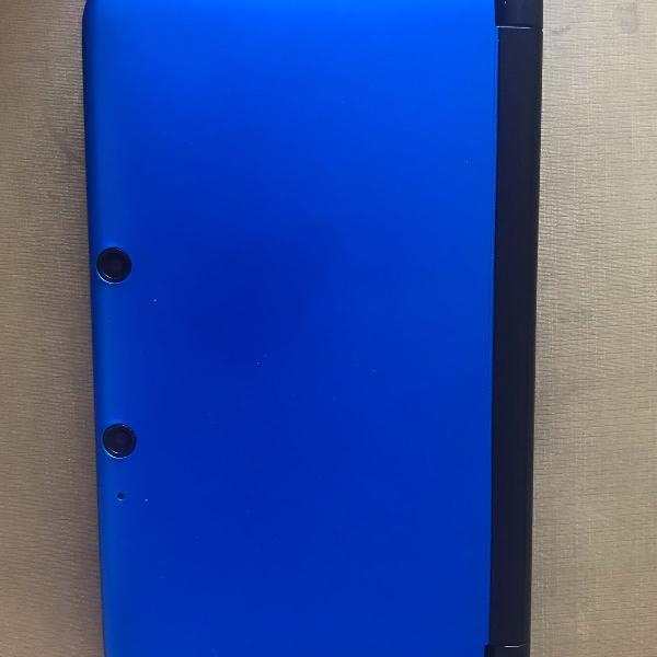 Nintendo 3ds xl preto / azul