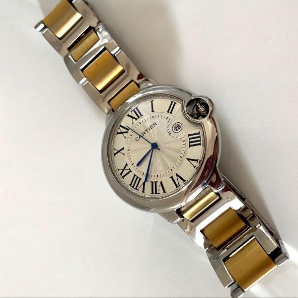 Relógio masculino cartier réplica